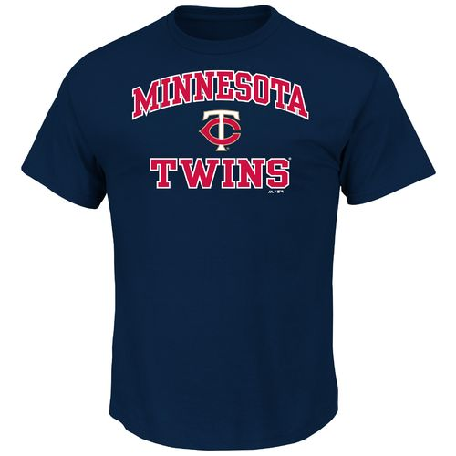 Majestic Men's Minnesota Twins Heart and Soul T-shirt