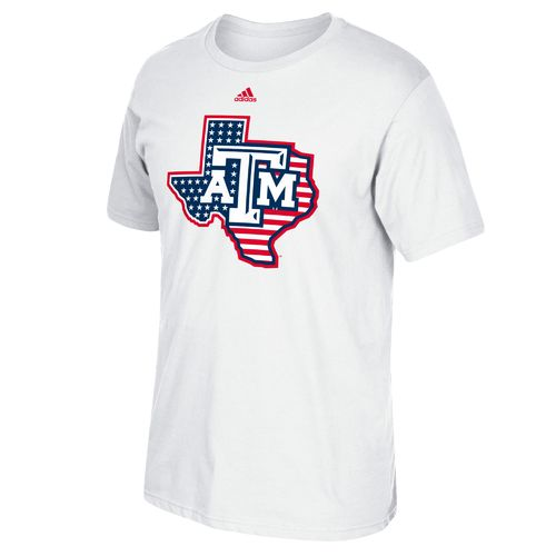 adidas™ Men's Texas A&M University Stars and Stripes T-shirt