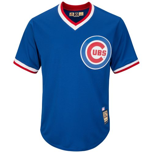 Majestic Men's Chicago Cubs Lou Brock #24 Cooperstown Cool Base 1968-69 Replica Jersey - view number 2