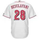 Majestic Men's Cincinnati Reds Anthony DeSclafani #28 Cool Base Replica Jersey - view number 1