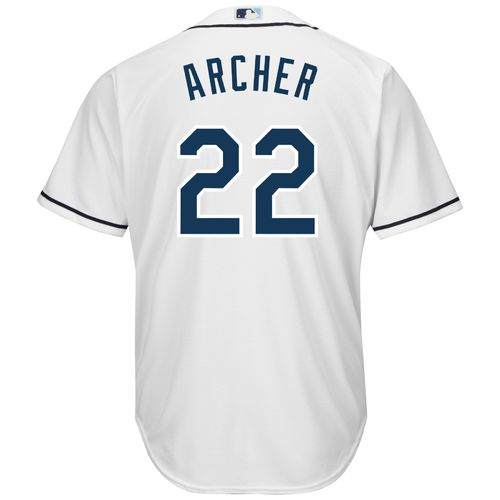 Majestic Men's Tampa Bay Rays Chris Archer #22 Cool Base Replica Jersey - view number 1