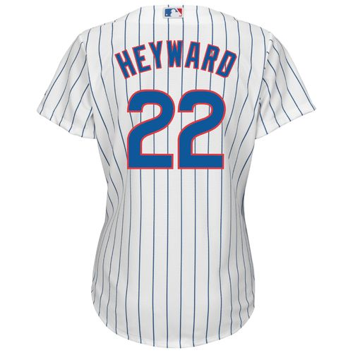 Majestic Women's Chicago Cubs Jason Heyward #22 Cool Base Replica Home Jersey