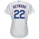 Majestic Women's Chicago Cubs Jason Heyward #22 Cool Base Replica Home Jersey - view number 1