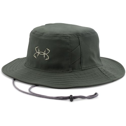 Green hat academy for Under armour fish hook bucket hat