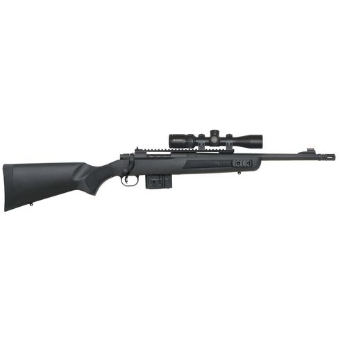Mossberg MVP Scout 7.62mm NATO Bolt-Action Rifle Scoped Combo