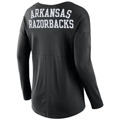 Nike Women's University of Arkansas Tailgate T-shirt - view number 2