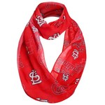 Forever Collectibles™ Women's St. Louis Cardinals Team Logo Infinity Scarf