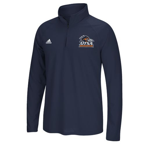 adidas™ Men's University of Texas at San Antonio climalite® Ultimate 1/4 Zip Pullover