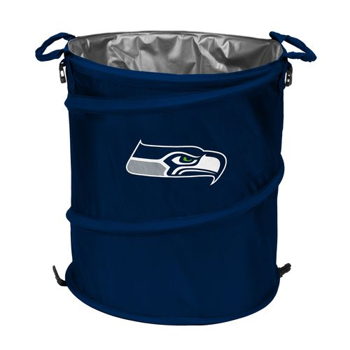 Logo™ Seattle Seahawks Collapsible 3-in-1 Cooler/Hamper/Wastebasket