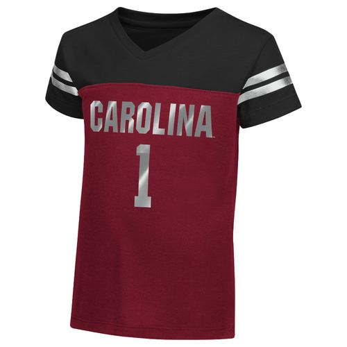 Colosseum Athletics™ Toddler Girls' University of South Carolina Nickle T-shirt
