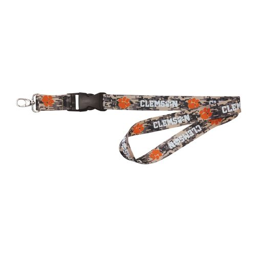 NCAA Clemson University Digicam Lanyard