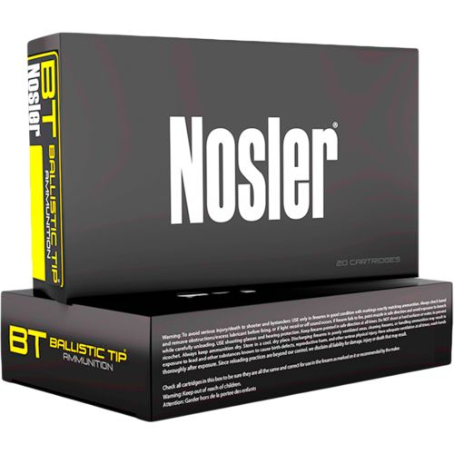 Display product reviews for Nosler Ballistic Tip .243 Win 90-Grain Centerfire Rifle Ammunition