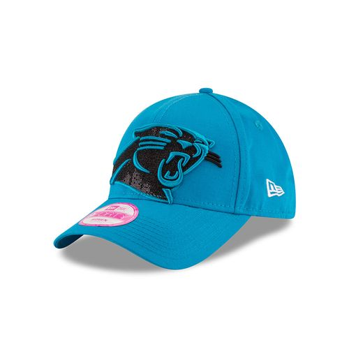 New Era Women's Carolina Panthers 9FIFTY® Glitter Glam Cap