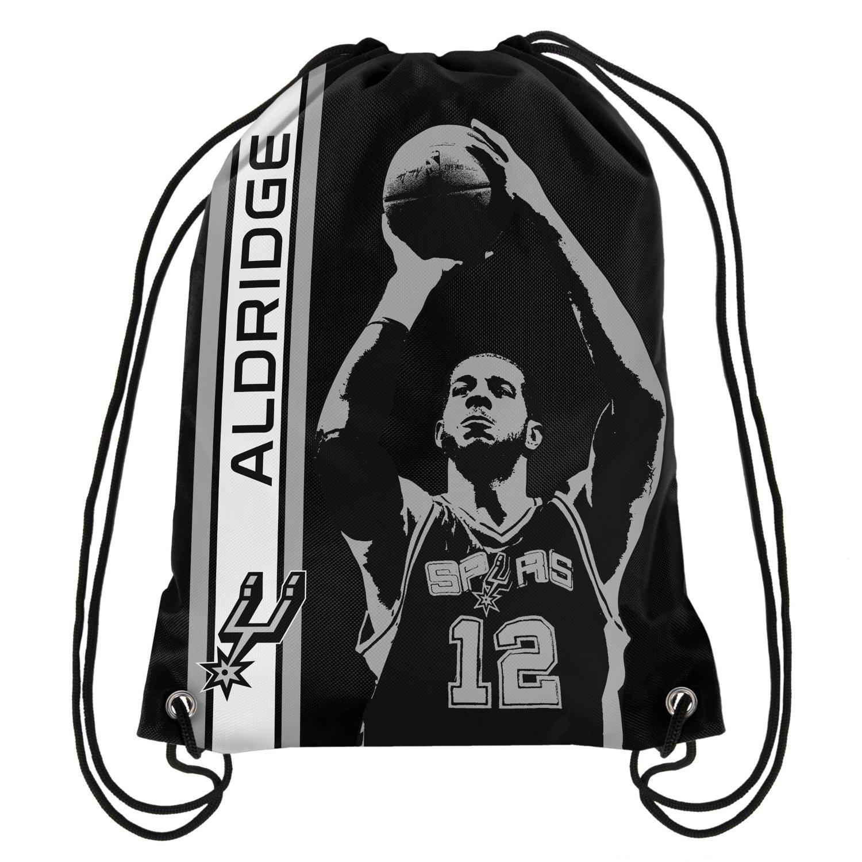Team Beans San Antonio Spurs LaMarcus Aldridge #12 Drawstring Backpack