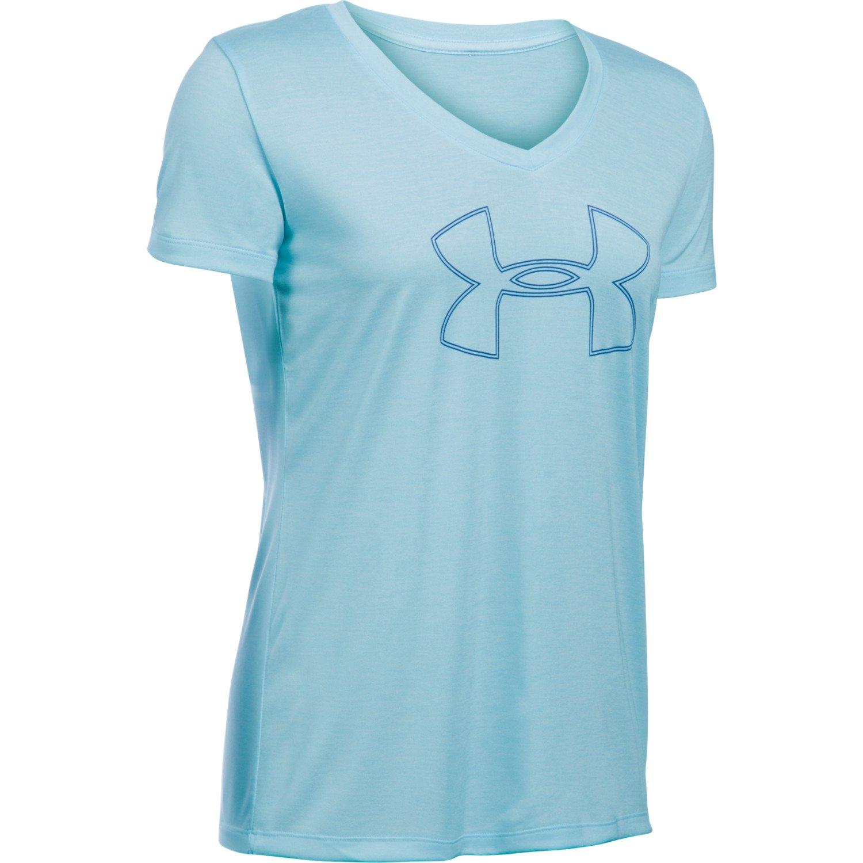 Under Armour™ Women's Tech Twist Branded V-neck Short