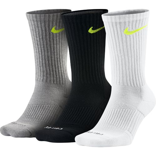 Display product reviews for Nike Adults' Dri-FIT Half Cushion Crew Socks