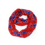 ZooZatz Women's Louisiana Tech University Infinity Scarf