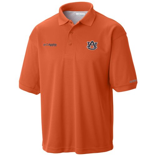 Columbia Sportswear Men's Auburn University Collegiate Perfect Cast Polo Shirt