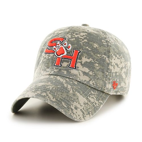 '47 Sam Houston State University Officer Camo Clean-Up Cap