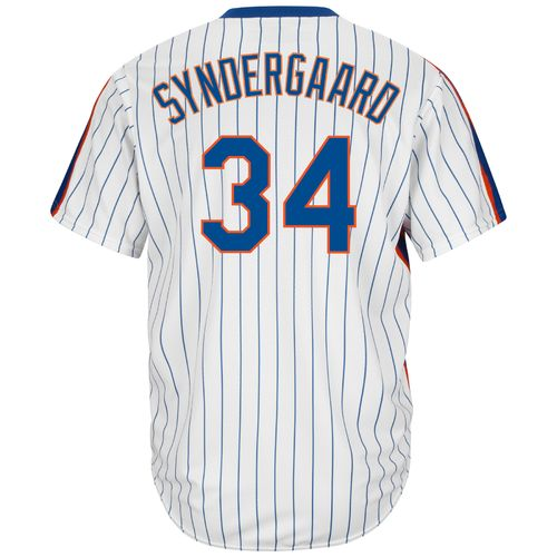 Majestic Men's New York Mets Noah Syndergaard #34 Cool Base Cooperstown Jersey