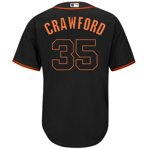 Majestic Men's San Francisco Giants Brandon Crawford #35 Cool Base Replica Jersey