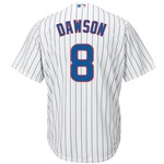 Majestic Men's Chicago Cubs Andre Dawson #8 Cool Base Replica Jersey - view number 1