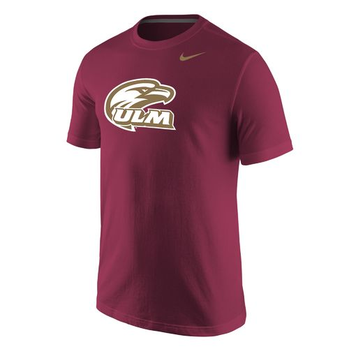 Nike Men's University of Louisiana at Monroe Wordmark T-shirt