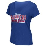 G-III for Her Women's Texas Rangers Fair Catch T-shirt