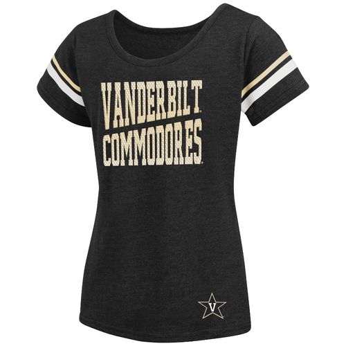 Colosseum Athletics™ Girls' Vanderbilt University Fading Dot T-shirt