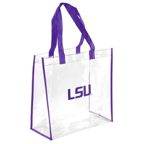 Team Beans Louisiana State University Clear Reusable Bag