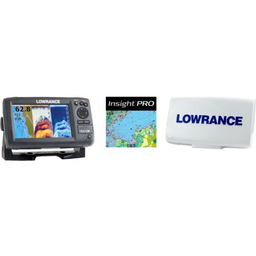 Lowrance Hook-7 Mid/High/Downscan Fishfinder/Chartplotter with Insight Pro - view number 2