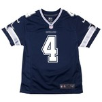 Dallas Cowboys Boys' Dak Prescott #4 Game Jersey - view number 2