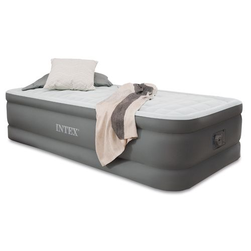 INTEX™ PremAire™ Elevated Twin Airbed with Built-In Electric Pump