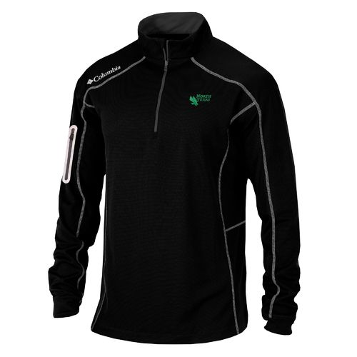 Columbia Sportswear™ Men's University of North Texas Shotgun 1/4 Zip Pullover