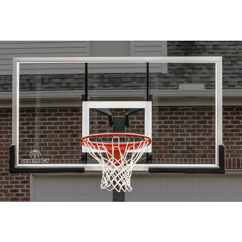 Silverback 54 in Inground Tempered-Glass Basketball Hoop - view number 6