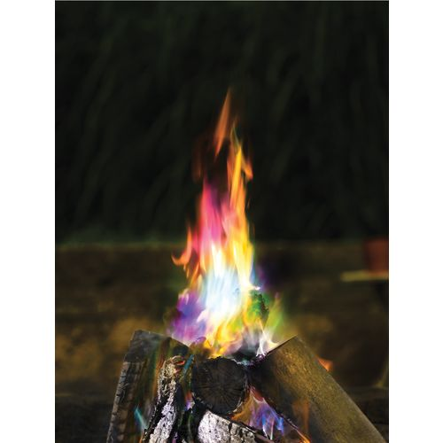 Funky Colored Flames Color-Changing Flame Crystals 3-Pack - view number 2