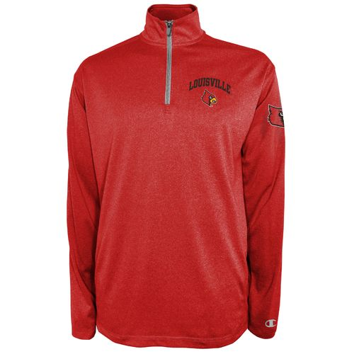 Champion™ Men's University of Louisville Victory 1/4 Zip Pullover - view number 1