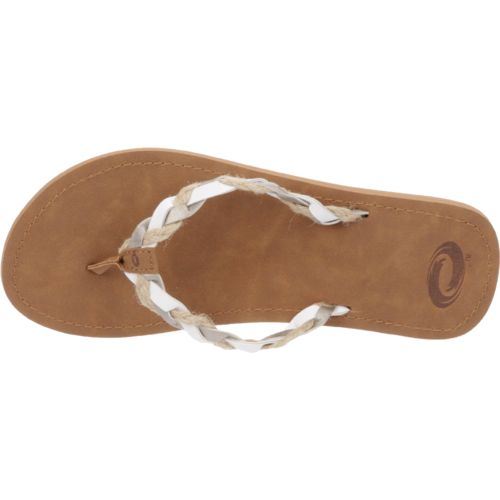 O'Rageous Women's Rafia Braid Sandals - view number 4