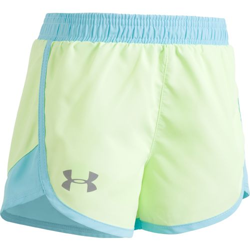 Under Armour Girls' Wordmark Fastlane Short