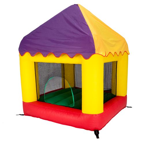 Jumpking 6.25 ft x 6 ft Bounce House with Circus Cover