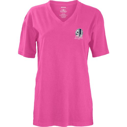 Three Squared Juniors' Southeastern Louisiana University Baylee V-neck T-shirt - view number 2