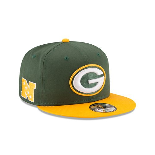 New Era Men's Green Bay Packers 9FIFTY Baycik Snapback Cap - view number 3