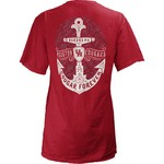 Three Squared Juniors' University of Houston Anchor Flourish V-neck T-shirt - view number 1