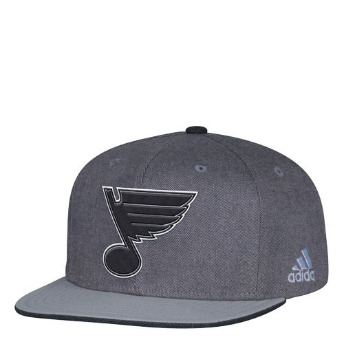 adidas Men's St. Louis Blues Travel & Training Snapback Cap