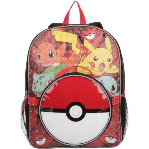 Pokemon Boys' Backpack with Lunch Kit