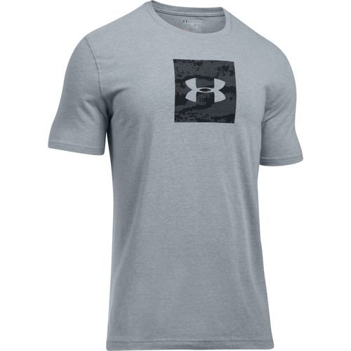 Under Armour Men's Camo Boxed Logo Short Sleeve T-shirt