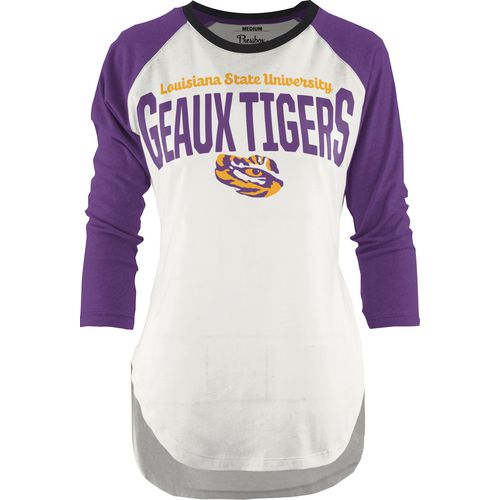 Three Squared Juniors' Louisiana State University Quin T-shirt