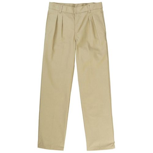 French Toast Boys' Adjustable Waist Pleated Double Knee Uniform Pant - view number 1
