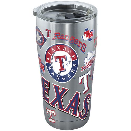 Tervis Texas Rangers 20 oz Stainless-Steel Tumbler - view number 1