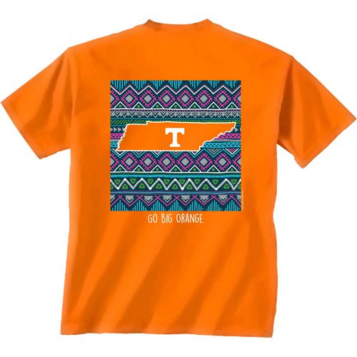 New World Graphics Women's University of Tennessee Terrain State T-shirt